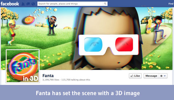 Fanta Facebook Cover