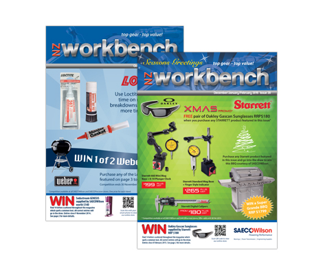 NZ Work Bench publication by Cre8ive
