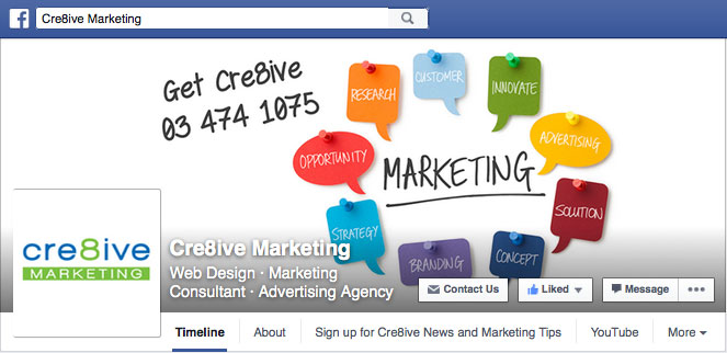 Current Facebook Business Layout