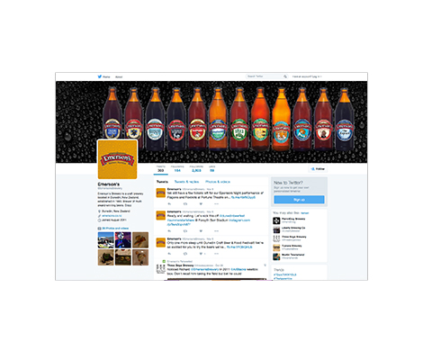 Emersons Social Media Twitter by Cre8ive Marketing