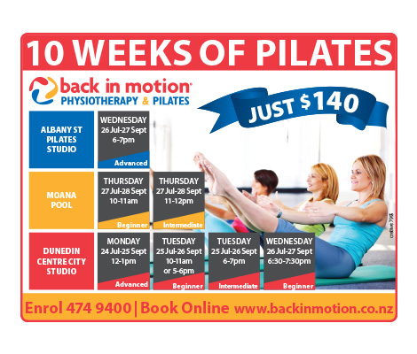 Back in Motion Pilates Class