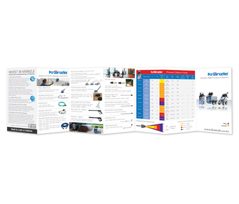 Kranzle brochure by Cre8ive