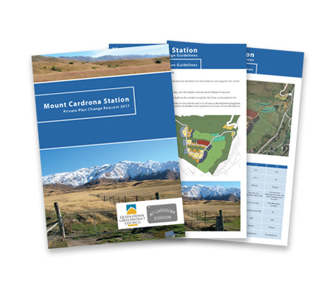 Mt Cardrona Guidelines by Cre8ive