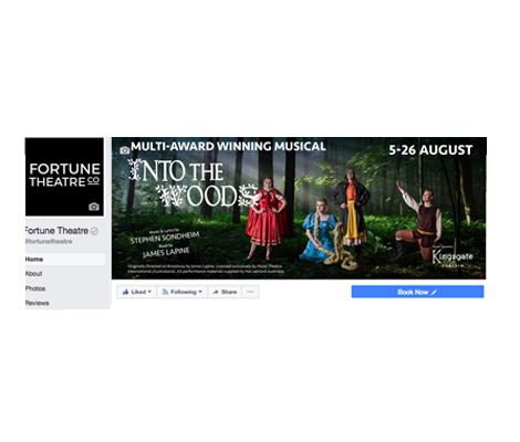 Social Media Images Fortune Theatre by Cre8ive