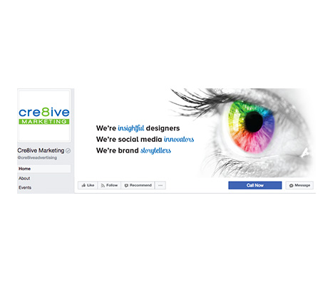 Facebook Cre8ive Cover photo
