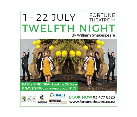 Twelfth Night Fortune Theatre