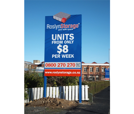 Roslyn Storage Signage by Cre8ive