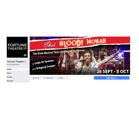That Bloody Woman Fortune Dunedin by Cre8ive