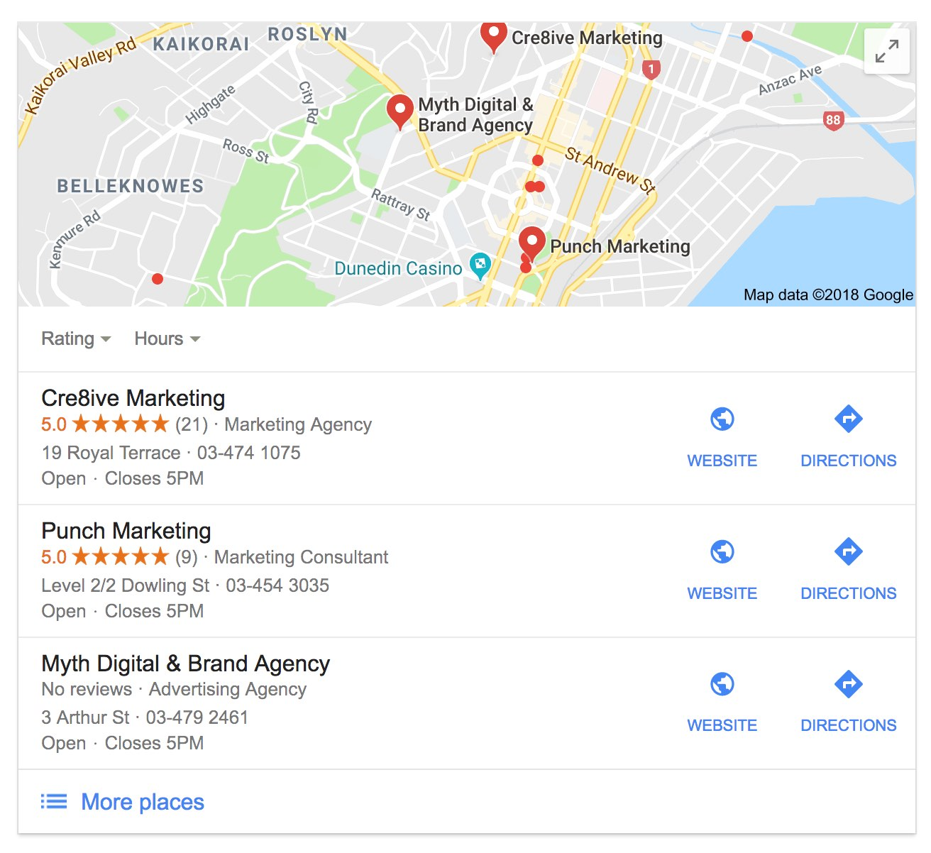 how to get in the google local pack tips