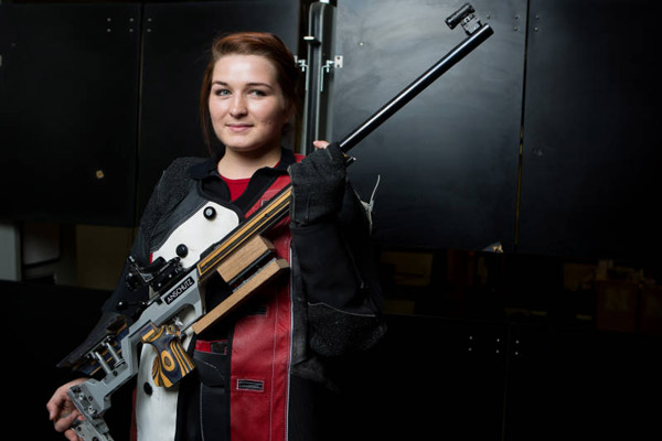 maggie mical and her rifle
