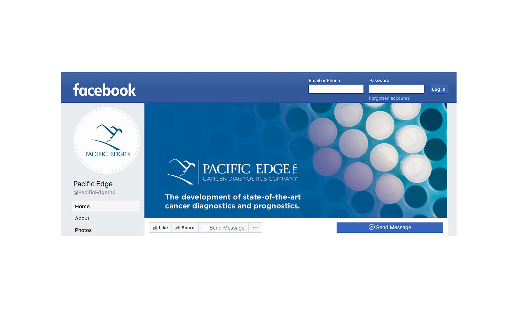 Facebook Cover Pacific Edge Design by Cre8tive Dunedin