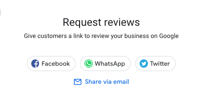 request google reviews